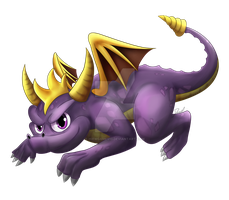Spyro The Dragon! by HiewGames10