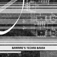 Techno brushes by Brammeee