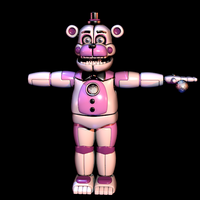 Funtime Freddy v12 done by Maximorra