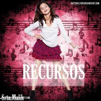 recursos blend 'Demii Lovato' by Larii-editions11