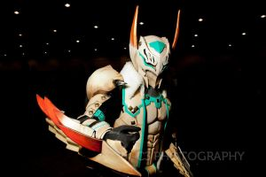 Monster Hunter Cosplay 3 (Barioth G rank) by DragonicHeaven