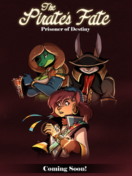 Announcing The Pirate's Fate: Prisoner of Destiny! by volkenfox
