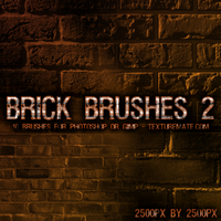 Brick Brushes 2 by AscendedArts