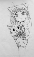 Cat Lover by wingedmusician