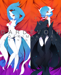 Mean Goth Gardevoir by Slugbox