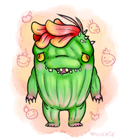 Guild Wars 2 OC: Combover Carl by syrcaid