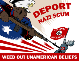 Deport Nazi Scum by SouthParkTaoist