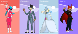 Elite Four collaboration by SuperMandarine