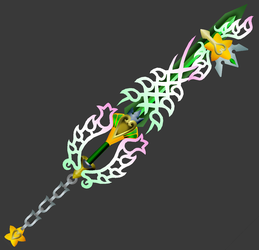 [3D Preview] Radiant Ultima - Original Keyblade by makaihana975