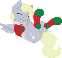 Christmas Derpy by Fluttershy750