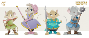 WOTV Concept: Brisby's Children by BrisbyBraveheart