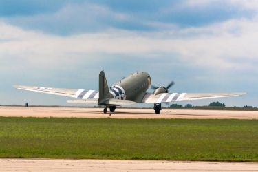 C-47 Taxiing by spcefrk
