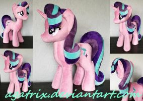 Starlight Glimmer plush by agatrix