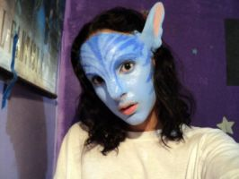 Neytiri version 2 test by Official-AmyFantasy