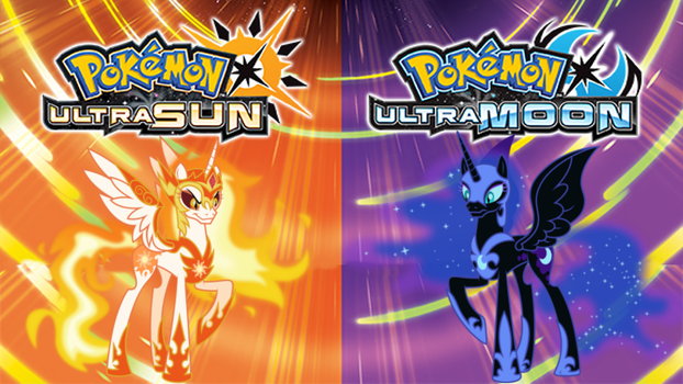 Pokemon UltraSun and Pokemon UltraMoon MLP Version by Torterra1324