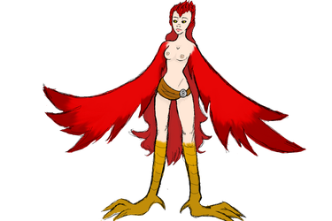 Day 1 - harpy by Qu-Ross