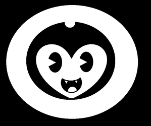 Baby Bendy Head Logo by Flame-dragon