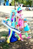 Arcade Sona and Annie Fan Expo 2015 by Lightning--Baron