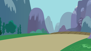 Road Outside of Ponyville by craftybrony