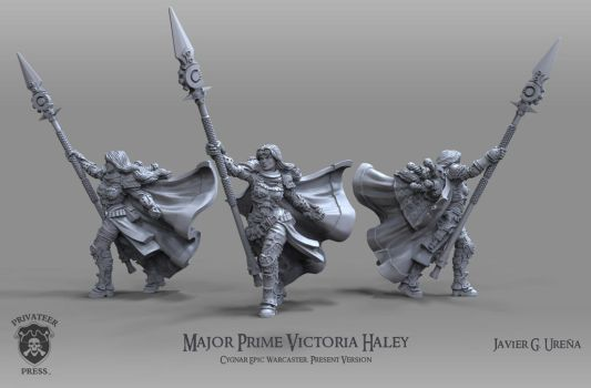 Major Prime Victoria Haley: Present Version by javi-ure