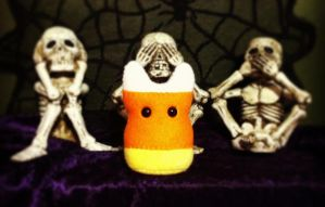 Candy Corn Something -- Halloween '13 by mintconspiracy