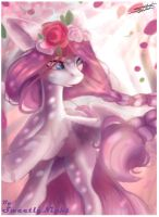 Rose (ArtTrade) roses, roses, more ROSES!!!! by SweetlyNight