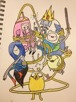 Adventure Time by AguilarX