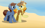To the beach with Brae by Coramino