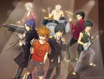 KHR: Vongola Rock Band of Doom by Asaphira