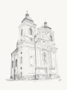 Church in Kostelec nad Orlici by Lifety