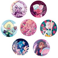 We... are the crystal gems!!! by SuperOotoro
