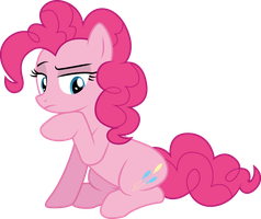 Unsure Pinkie by illumnious