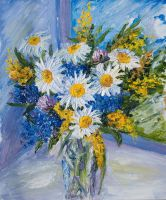 summer bouquet by GordievskikhNastya
