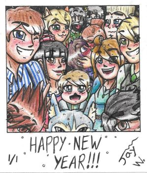 Happy New Year!!! by TheCreator2009
