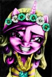 'One Lucky Bride.' Coloration. by PoniesInHats