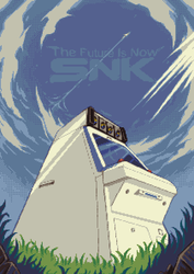 The Future Is Now! :pixelart: by TimJonsson