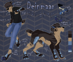 Deinmaar Reference sheet 2017 by N-o-x-y