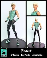 Phazer Statue Final Version by RichBernatovech