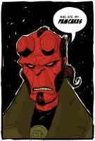 hellboy ith color by HEROBOY