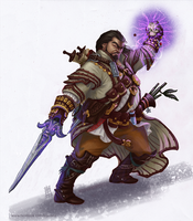 Mavaro - Iconic Occultist Pathfinder by BiPiCado