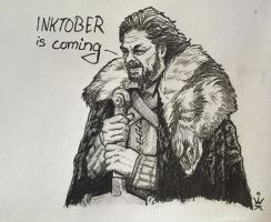 Inktober is coming by Kirana