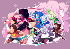 CRYSTAL GEMS by azoosart