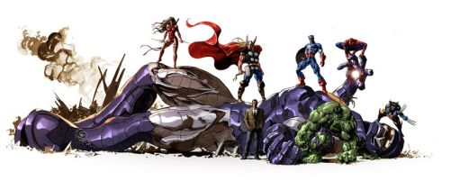 The Marvel Art of Mike Deodato by MikeDeodatoJr