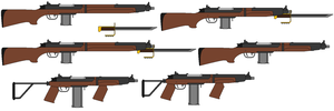 Rifle Model 3 and carbines by fatty119
