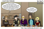 RPG A Quotable Problem by mindflenzing