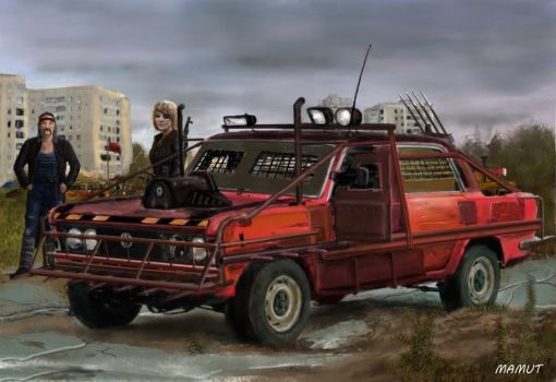 post apocalyptic car 4 by mamut077
