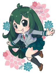 Chibi Tsuyu | Patreon Reward by MoogleGurl
