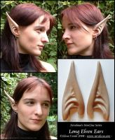 New long elven ears by Lluhnij