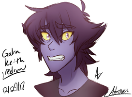 Voltron| Galra Keith Redraw. by ArtesVeil
