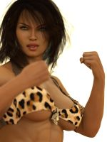 Zanya, the Jungle Queen: I will knock you out! by DahriAlGhul